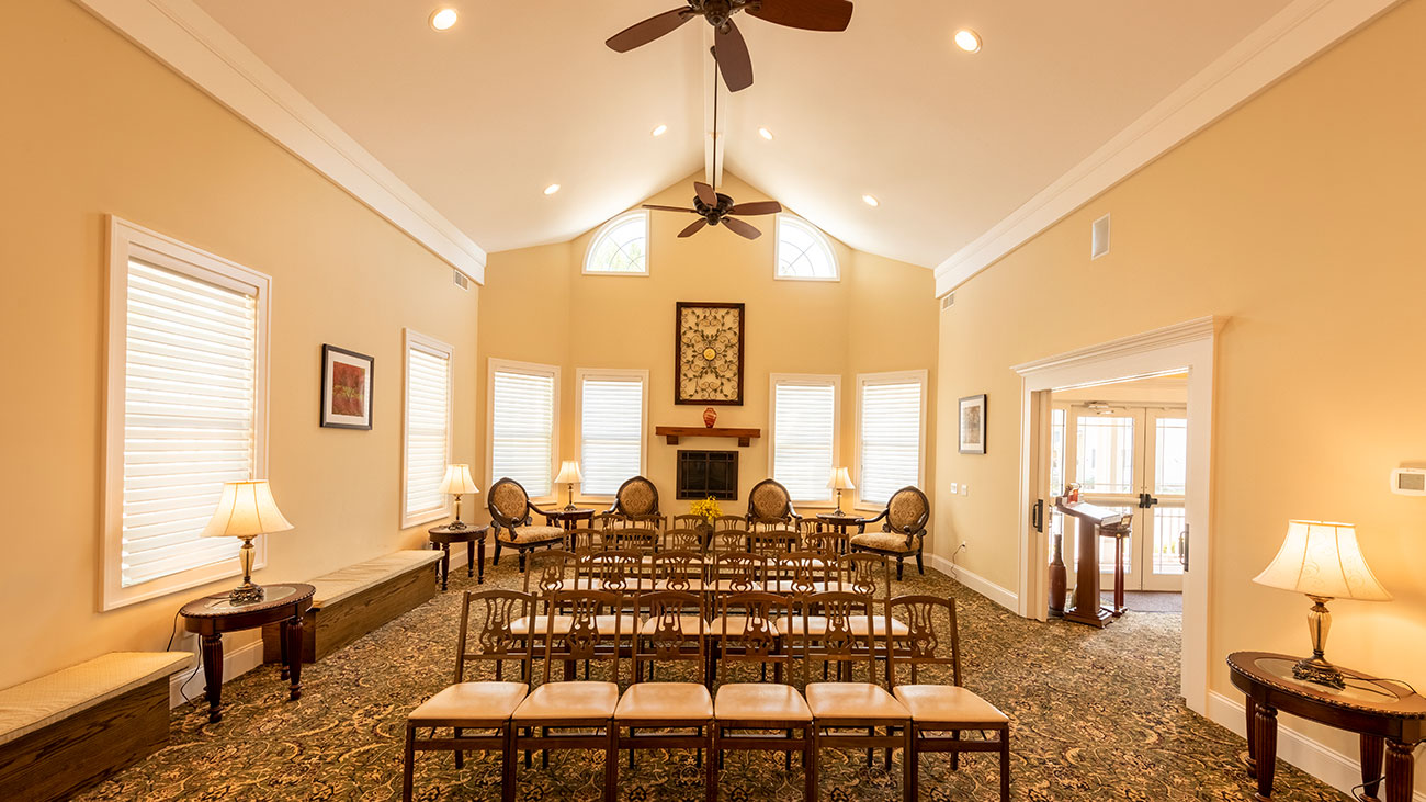 Hilton Chapel Interior