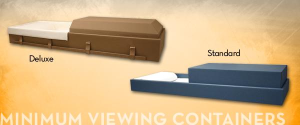 Minimum Viewing ContainersMinimum Viewing Containers