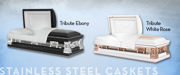 Stainless Steel Caskets
