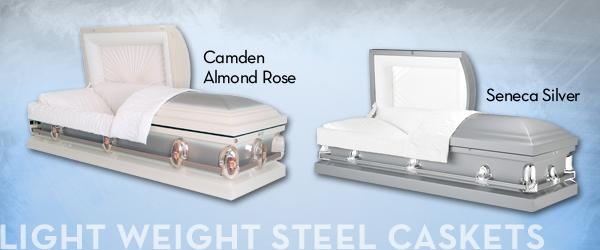 Light Weight Steel Caskets