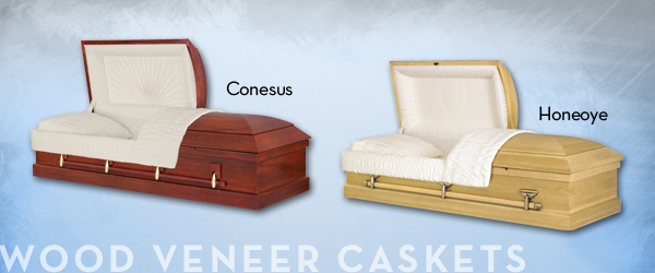 Wood Veneer Caskets